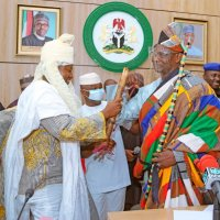 Abaga Of Toni II Confers Traditional Title Of Sarkin Yakin Kokona On Gov. Sule